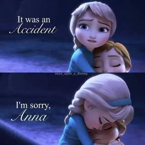 Frozen Anna Cartoon :-(