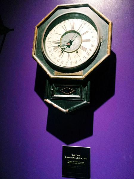 Clock Clock Face Clock Tower Close-up Illuminated Oldclock Olsun Purple Time Vintage