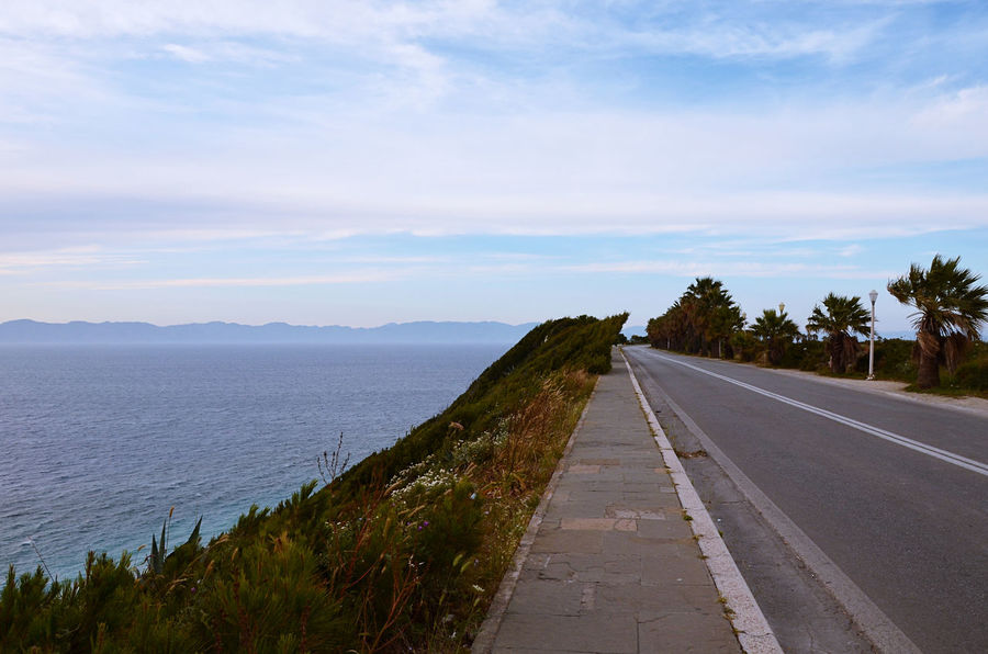 Cloud - Sky Day Greece Highway Landscape Nature No People Road Ródos Scenics Sky The Way Forward