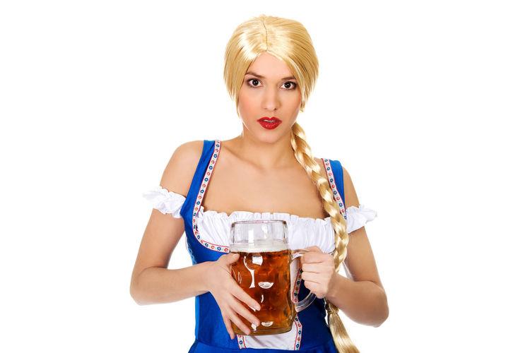 Beer Beer Time Blond Hair Octoberfest Studio Photography Studio Shoot Studio Shot Studiophotography White Background