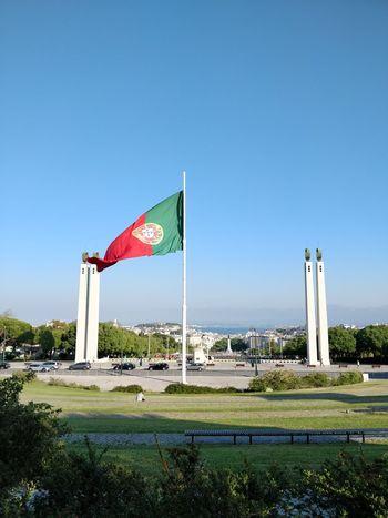 Politics And Government Patriotism City Flag Sky Grass