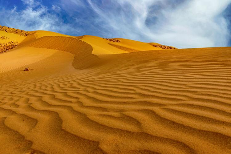 A dune in the negev desert.