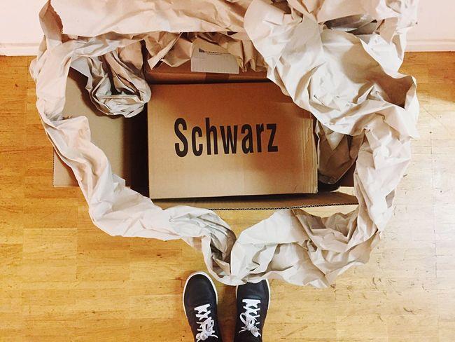 View From Above Shoes Sneakers Black Schwarz Paper Paper Box Eyeem Studio Kreuzberg