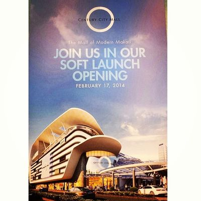 Join us in our soft opening on February 17, 2014 Centurycitymall Feb17