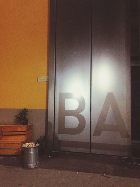 Lettering Types  Typography Entrance Door Coworking Milanofilmfestival Base Steel Industrial Enjoying Life Nightphotography