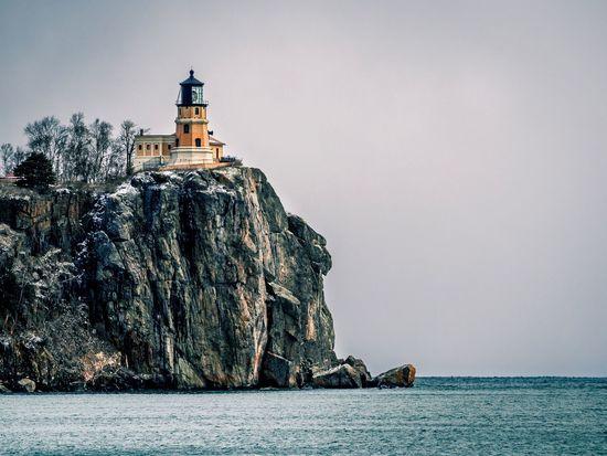 Minnesota's Split Rock Lighthouse. Minnesota Minnesota Nature Lighthouse Lighthouse_lovers Lighthouse_captures Lighthouses Lighthouseview Light House Cliff Cliffs Cliffside Lake Superior Greatlakes Great Lakes North Shore