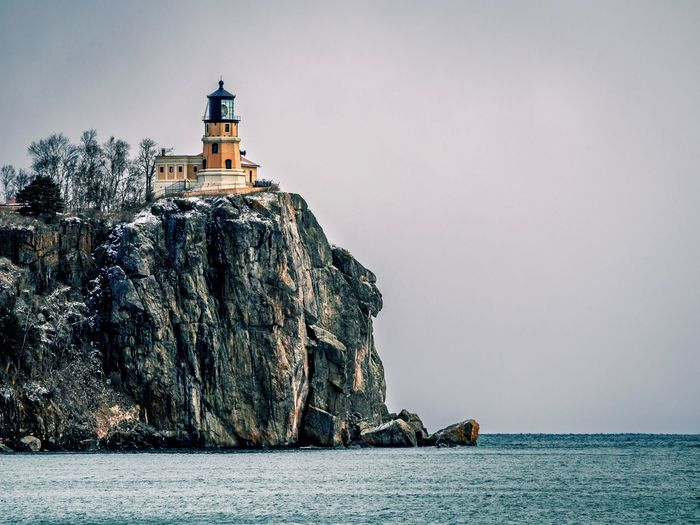 Minnesota's Split Rock Lighthouse. Minnesota Minnesota Nature Lighthouse Lighthouse_lovers Lighthouse_captures Lighthouses Lighthouseview Light House Cliff Cliffs Cliffside Lake Superior Greatlakes Great Lakes North Shore