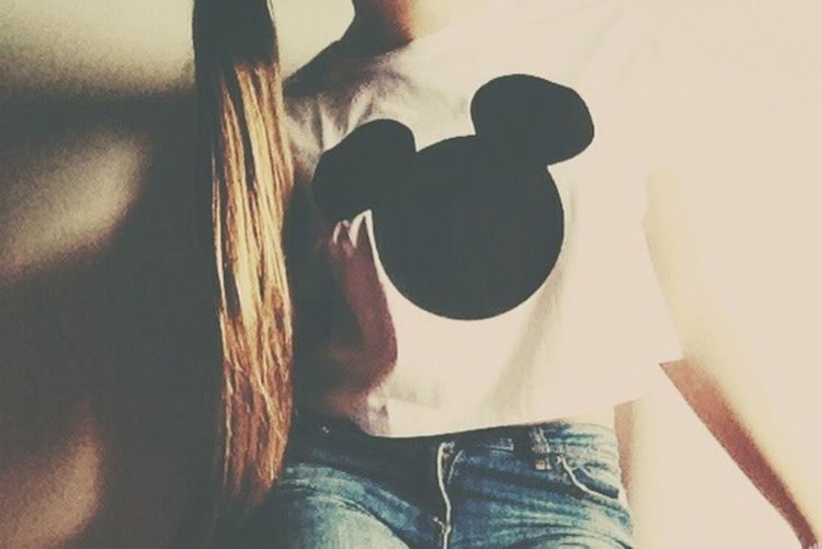 Hair Clothes Mickey Mouse Cool