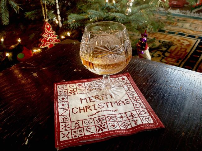 Crystal Brandy Snifter - a necessity for the holidays Winter Holiday Festivities Merry Christmas🎄🎅🏻 Liquid Lunch