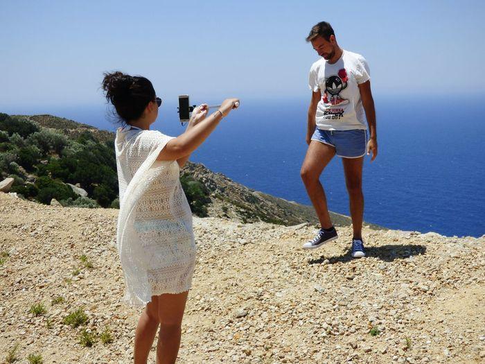 Foodphotography Road Trip Love ♥ Ikaria Greece Ikaria Ikariamoments Ikarialove Photo Photography Man Girl