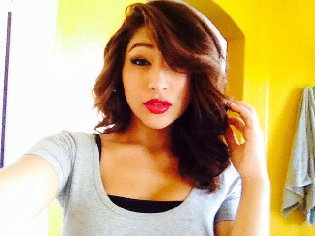 Makeup Redlips Bold #FollowMeOnInsta @amber_lovee_