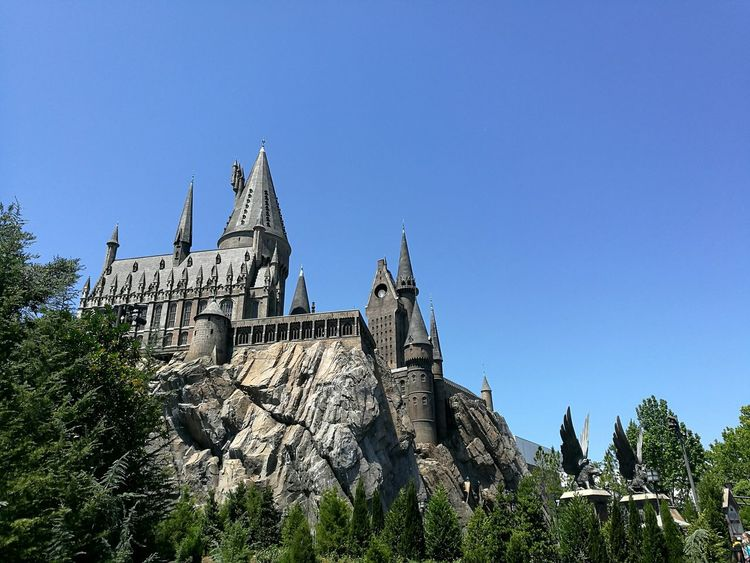 Architecture History Tree Outdoors Day No People Building Exterior Built Structure Sky King - Royal Person Howarts Harry Potter Harrypotterworld