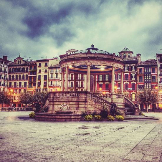 Early Morning Check This Out Autumn Pamplona (Spain) Plaza Navarra Anyone? No People Early Riser Taking Photos Hello World Enjoying Life