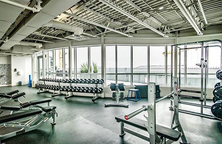 Check out the owners' roof top gym at The Groves of Varsity in Varsity Estates NW. YYC Calgary Alberta Canada
