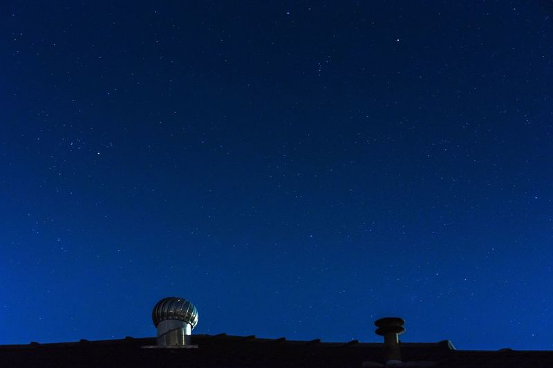 Star talk Sky Astronomy Astronomy Telescope Night Star - Space Blue Low Angle View Architecture