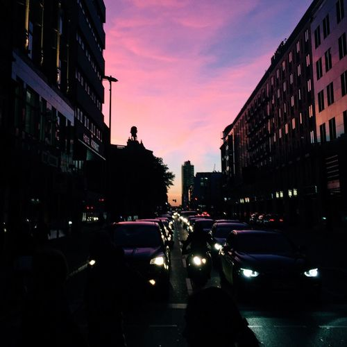 Berlin Sunset Sunset Silhouettes Vscocam VSCO Hanging Out Discover Berlin