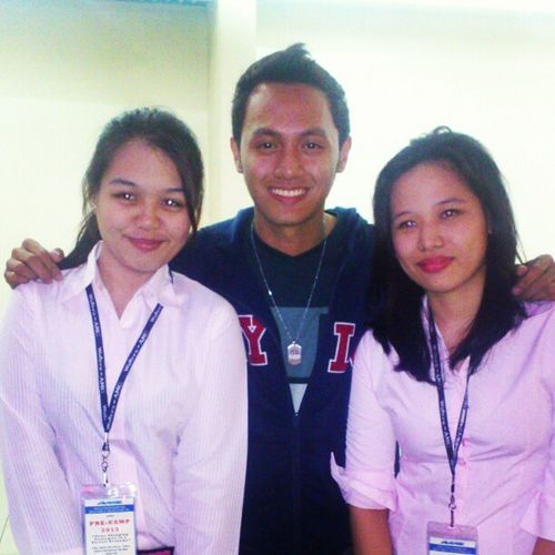 I miss my PJMA co-trainees. They're some of my closest friends in PJMA. NewEraUniv .JMA