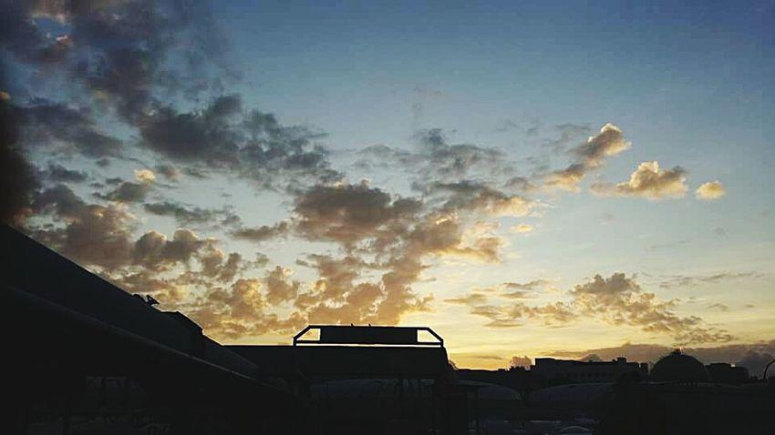 Morning Sky Blue Sky Clouds