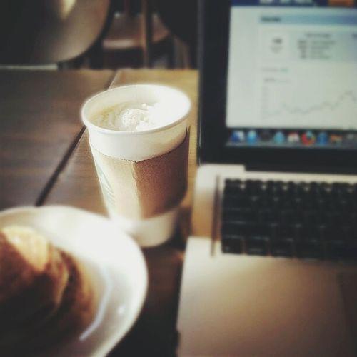 Morning Work Papers Coffee Time Starbucks Happyday Fullofenergy MorningEyeem