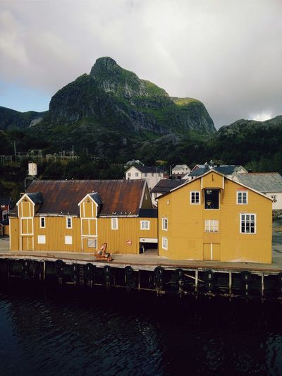 Nusfjord Whale Trail Tour Norway North Nusfjord Harbour