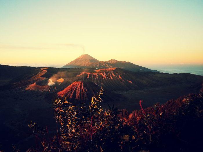 Mount Bromo, Indonesia Eyem Nature Lovers  Eyemnaturelover Eyem Nature Sunrise Volcano Beauty In Nature Volcanic Landscape Outdoors Nature Landscape Mountain Sky