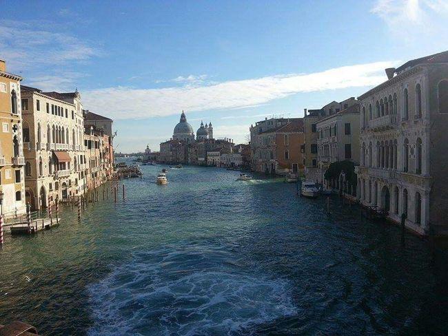 Venice, Italy Venice Brautiful Venice View Landscape Accademia Bridge Canal Grande Mycity Sea And Sky