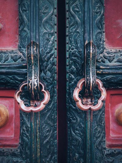 One of gates in the Imperial Palace Stories From The City Backgrounds Close-up Closed Day Door Full Frame Latch Metal No People Outdoors Pattern Protection Safety Security Visual Creativity 10