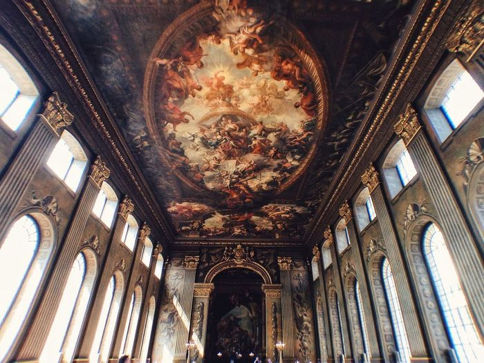 Painted Hall - Greenwich In The Mean Time EyeEm London Meetup The Architect - 2014 EyeEm Awards Symmetrical