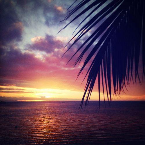 Tahiti Tahiti Sunset