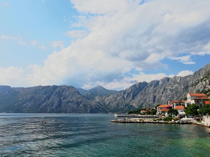 Balkans Balkans Europe Montenegro Kotor Bay EyeEm Selects Water City Mountain Sea Cityscape Nautical Vessel Yacht Sky Architecture Building Exterior Marina Bay Coastline