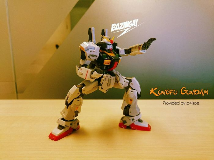 Kungfu  Gundam by P4lsoe