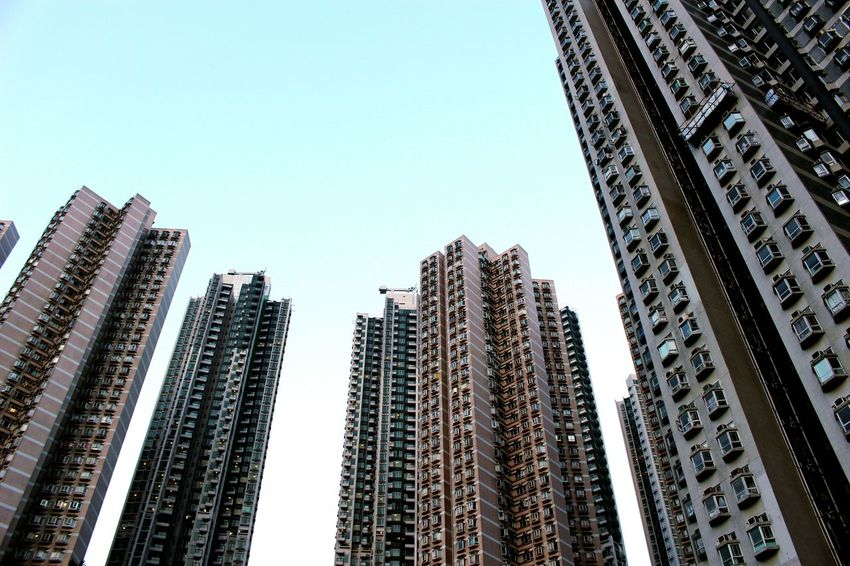 2015 Life In Hong Kong· Architecture Residential Buildings Hong Kong Hong Kong Style Densely Packed Hong Kong Building