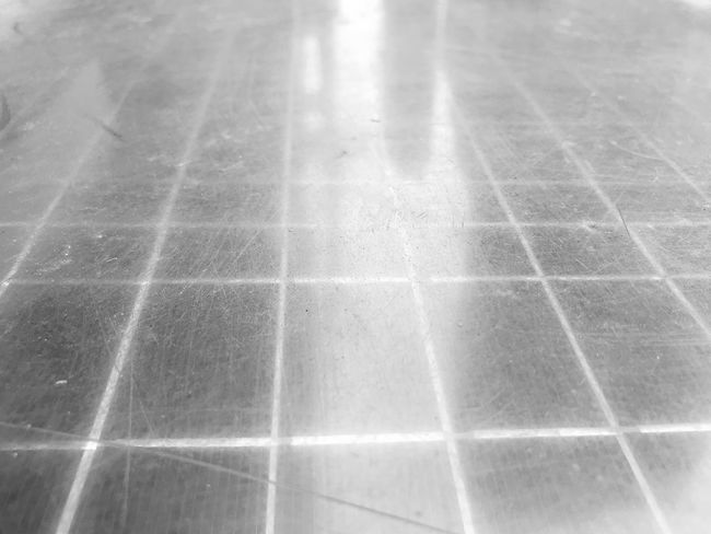 Reflection of a person waiting. Check This Out Capture The Moment Popular Photos The Week on EyeEm EyeEmNewHere Eye4photography  Square Scratch Taken From Above No People Shiny Shadow Illuminated Tiled Floor Full Frame Tile Pattern Backgrounds Day No People Close-up