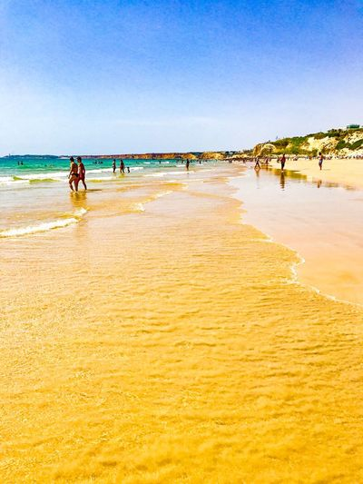 EyeEm Selects Beach Sand Sea Shore Water Nature Beauty In Nature Vacations Outdoors Sky Clear Sky EyeEmNewHere
