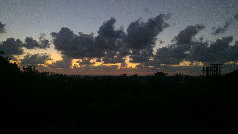 Sky Sunset Latakia  Night Clouds Clouds And Sky
