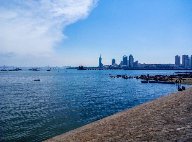 Being a volunteer in qingdao Hanging Out Hello World Relaxing Taking Photos Enjoying Life Sea Tour Leisure Time Qingdao China Birds Blue Wave Sea And Sky Pic Scenery Photography Goodtime Nikon D7000 Water Reflections The Week Of Eyeem July 2016 Sea View Beside The Seaside Catch The Moment Taking Photos