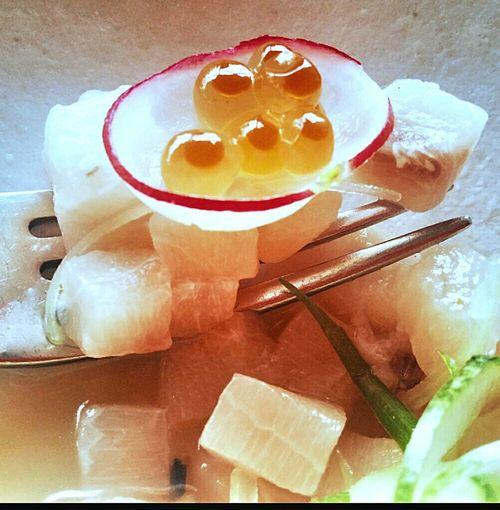 Swordfish Tartare Ikura Caviar Singapore