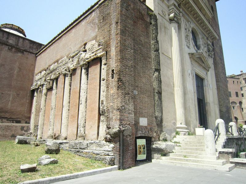 S. Nicola in Carcere, Rome, Italy Architecture Built Structure Building Exterior Outdoors No People Day Clear Sky Sky Church Temple Roman Roma Rome Italy Italia