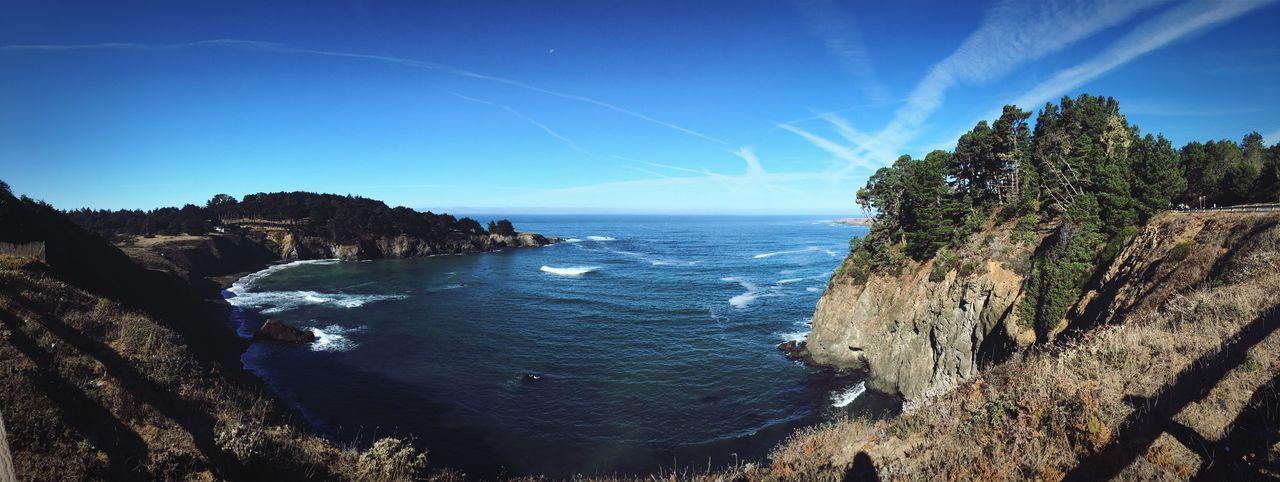 Cliff Coastline Water Sky Beauty In Nature Sea Scenics - Nature Plant Tranquil Scene Horizon