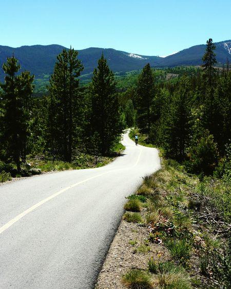 Frisco Colorado Summer Biking Mountains