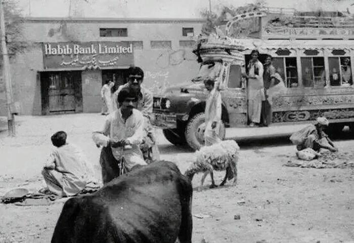 Main bazar mingora in 1960