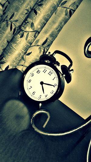 Close-up of clock