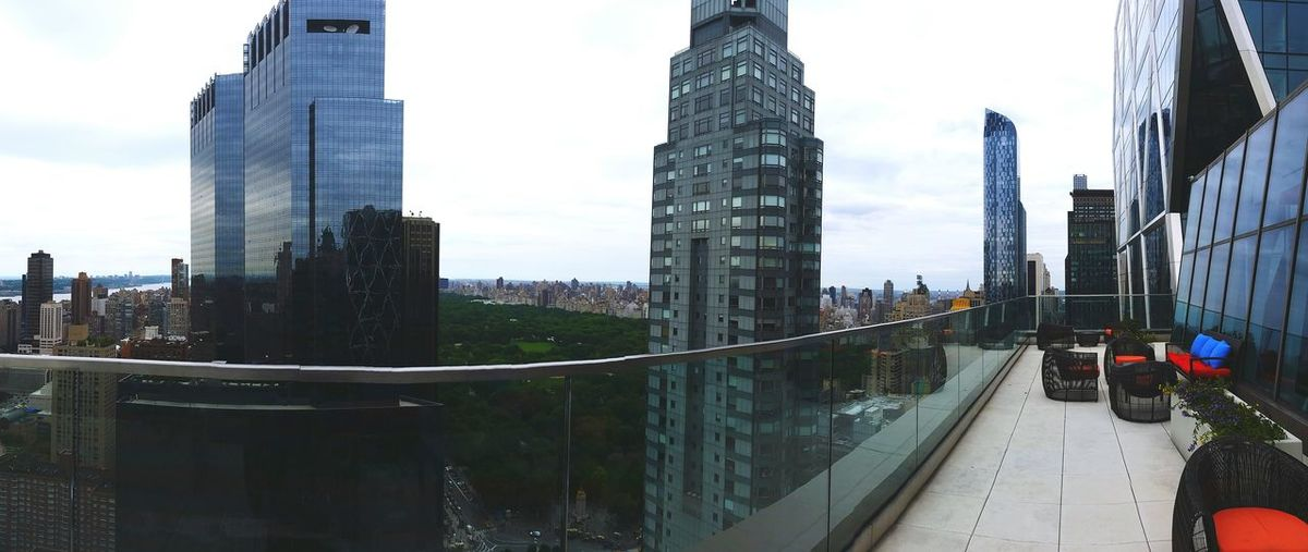 One57 TowerOne57 Manhattan Architecture View Panoramic CentralPark Central Park Rooftoop Rooftop View