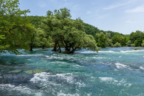 Beauty In Nature Bosnia Nature Outdoor Photography Outdoors Travel Destinations Travel Photography Traveling Tree Una Water Www.gonetosee.de