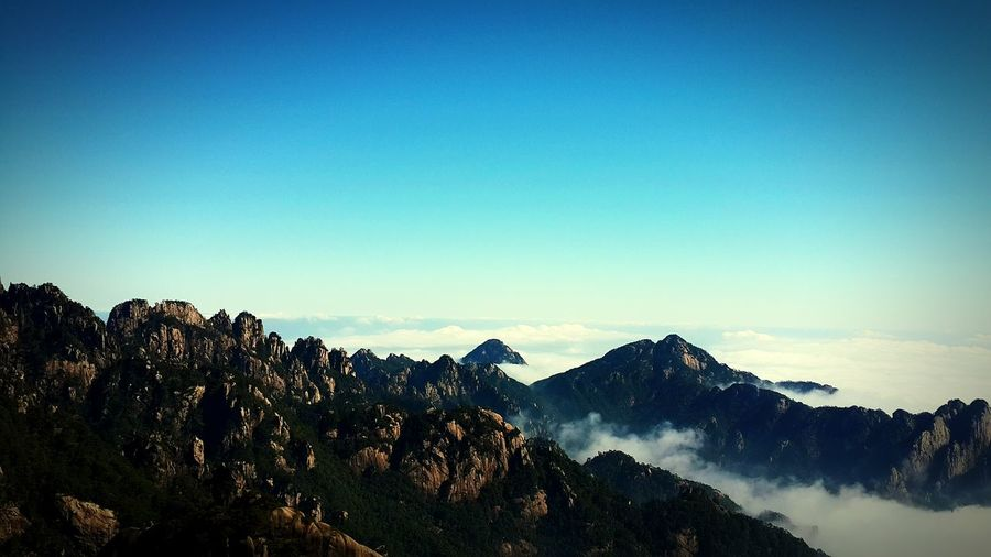 China Culture Clouds Taking Photos Memories ❤ Mountains And Sky Morning Sky