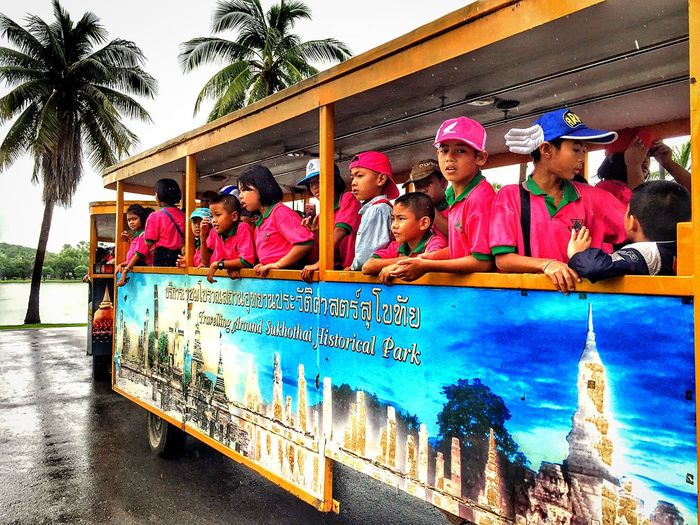 People Student Travel Vacations Happy Traveling Colors On The Road Hi! Hello World