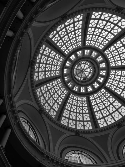 Westfield Mall Dome Architecture Details HuaweiP9 Leica Monochrome The Architect - 2016 EyeEm Awards