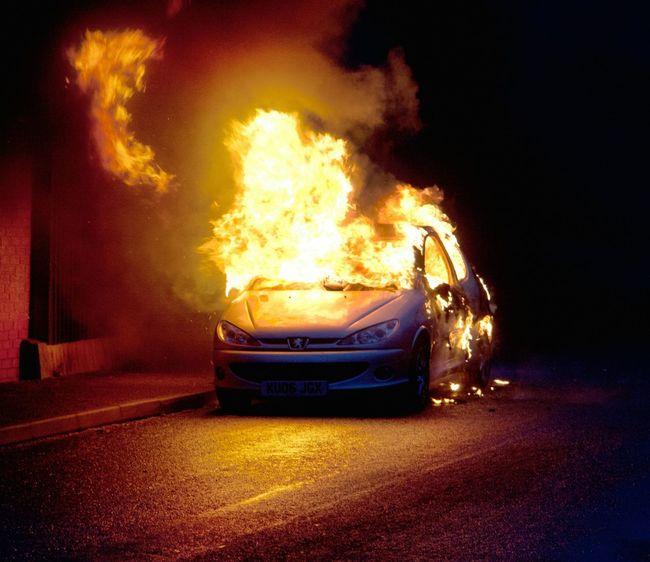 Arson Car Fire