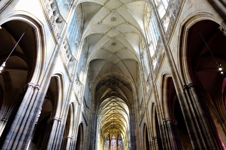 Architecture Place Of Worship Spirituality Religion Arch Built Structure Belief Architectural Column Building Low Angle View Building Exterior The Past History No People Window Ceiling Gothic Style Architecture And Art Abbey