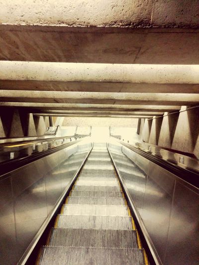 Metro Station No People